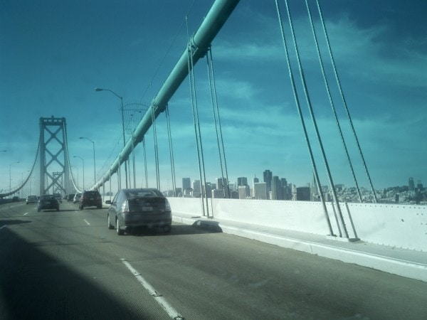 Entering San Francisco