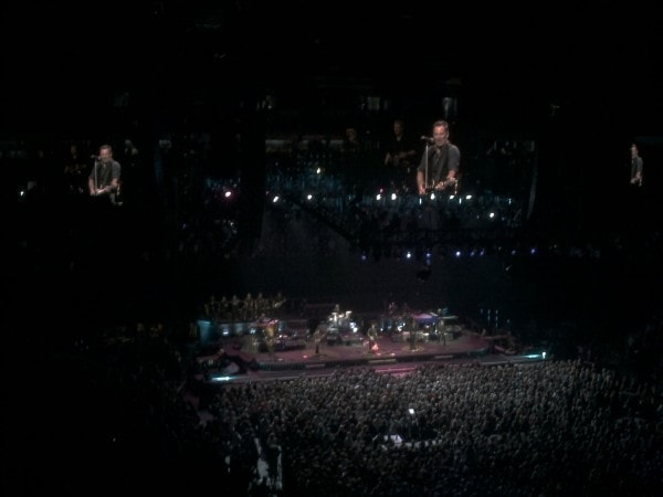 Bruce Springsteen Rocking out