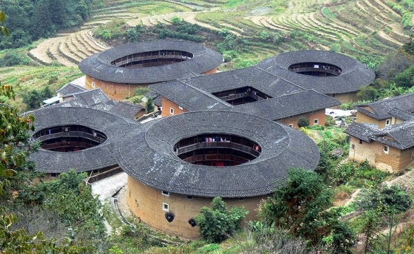 Tianluokeng Tulou, earthen building