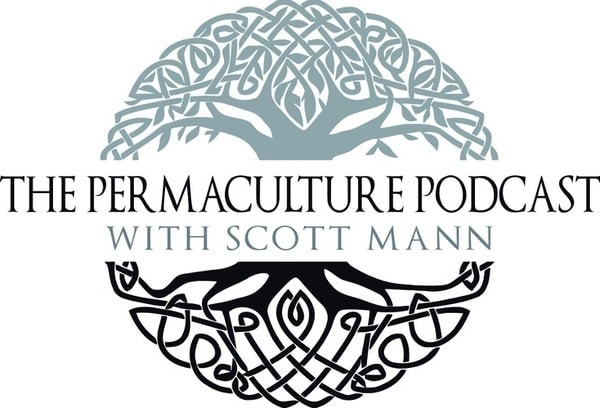 Scott Mann, the permaculture podcast logo