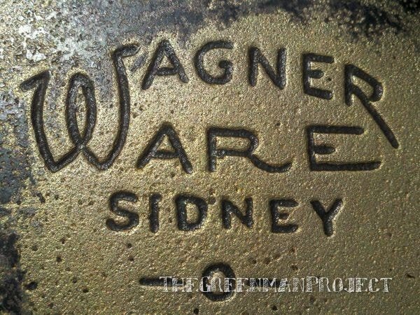 Season cast iron, Wagner skillet No.7
