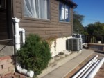 Rainwater Harvesting - RainHead on a six inch first flush with a wet system - The Greenman Project